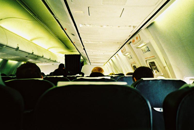 Please remain in your seats when the seatbelt light is illuminat